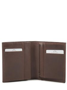 Wallet Leather Etrier Brown dakar 200143-vue-porte