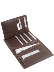Wallet Leather Etrier Brown dakar 200325-vue-porte