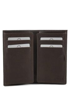 Card Holder Leather Etrier Brown dakar 200006-vue-porte