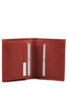 Card Holder Leather Etrier Pink dakar 200015-vue-porte
