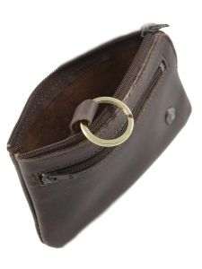Key Holder Leather Etrier Brown dakar 200612-vue-porte