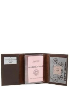 Wallet Leather Etrier Brown dakar 200024-vue-porte