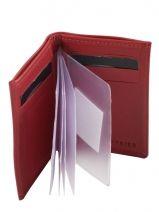 Card Holder Leather Etrier Red dakar 200013-vue-porte