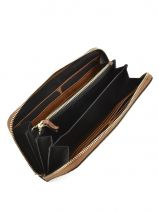 Wallet Leather Etrier Brown tradition EHER901-vue-porte