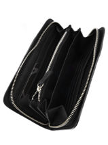 Wallet Leather Etrier Black caleche ECAL901B-vue-porte
