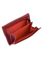 Purse Leather Etrier Red blanco 600802-vue-porte