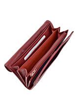 Purse Leather Etrier Red blanco 600700-vue-porte