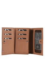 Purse Leather Etrier Beige blanco 600600-vue-porte