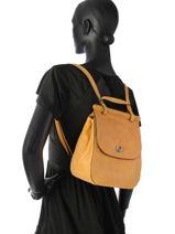 Backpack Etrier Yellow casac ECAS03-vue-porte