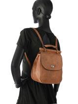 Backpack Etrier Brown casac ECAS03-vue-porte