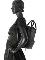 Backpack Etrier Black galop EGAL06-vue-porte