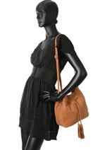 Crossbody Bag Allure Leather Etrier Brown allure EBALL07-vue-porte