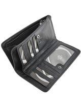 Wallet Leather Etrier Black galop EGAL906-vue-porte