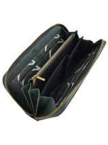 Wallet Leather Etrier Green allure EBALL91C-vue-porte