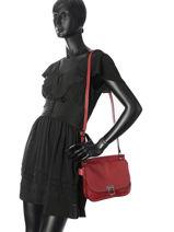 Shoulder Bag Tess Leather Etrier Black tess ETESS09-vue-porte