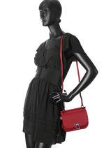 Shoulder Bag Tess Leather Etrier Black tess ETESS10-vue-porte