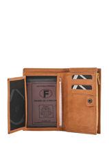 Purse Leather Etrier Brown selle 810701-vue-porte