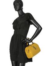 Small Top Handle Balade Leather Etrier Yellow balade EBAL10-vue-porte