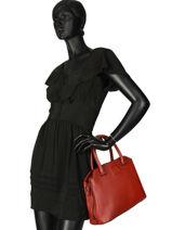 Top Handle Balade Leather Etrier Red balade EBAL06-vue-porte