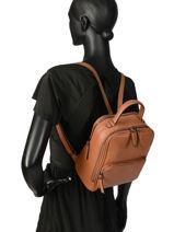 Backpack Balade Etrier Yellow balade EBAL08-vue-porte