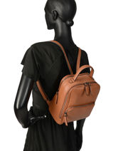Backpack Etrier Brown balade EBAL08-vue-porte