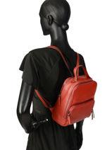 Backpack Balade Etrier Red balade EBAL08-vue-porte