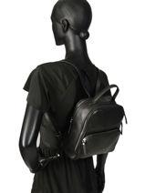 Backpack Balade Etrier Black balade EBAL08-vue-porte