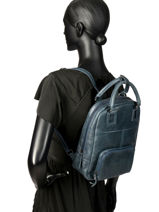 Backpack Etrier Blue galop EGAL06-vue-porte