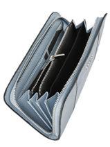 Portefeuille Cuir Etrier Bleu caleche ECAL901B-vue-porte