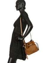 Crossbody Bag Jockey Etrier Brown jockey EJOC07-vue-porte