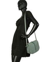 Crossbody Bag Natte Etrier Green natte ENTT01-vue-porte