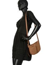 Crossbody Bag Natte Etrier Brown natte ENTT05-vue-porte