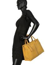 Tote Bag Natte Etrier Yellow natte ENTT08-vue-porte