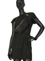 Fanny Pack Natte Leather Etrier Black natte ENTT10-vue-porte