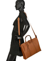 Leather Tradition Briefcase Etrier Black tradition EHER81-vue-porte