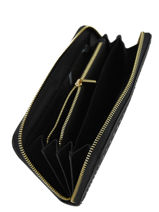 Wallet Leather Etrier Black tradition EHER91-vue-porte