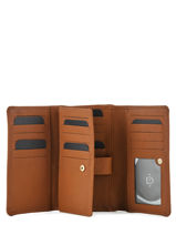 Leather Tradition Wallet Etrier Beige tradition EHER95-vue-porte
