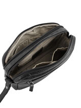 Messenger Bag Etrier Black foulonne EFOU11-vue-porte