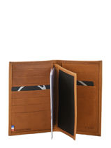 Wallet Leather Etrier Gold western 47830-vue-porte