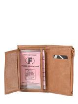 Purse Leather Etrier Brown beverly 96468-vue-porte