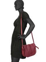 Crossbody Bag Natte Etrier Red natte ENTT01-vue-porte
