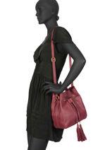 Bucket Bag Natte Etrier Red natte ENTT07-vue-porte