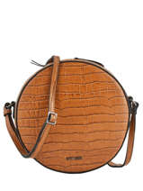 Large Shoulder Bag Darwin Leather Etrier Brown darwin EDAR07