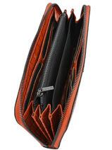 Wallet Leather Etrier Red darwin EDAR91-vue-porte