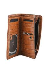 Wallet Leather Etrier Brown darwin EDAR92-vue-porte