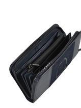 Leather Jockey Wallet Etrier Blue jockey EJOC91-vue-porte