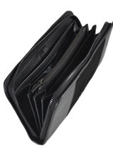 Leather Jockey Wallet Etrier Black jockey EJOC91-vue-porte
