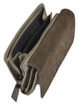 Leather Jockey Wallet Etrier Green jockey EJOC92-vue-porte