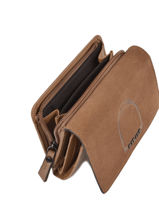 Leather Jockey Wallet Etrier Brown jockey EJOC92-vue-porte