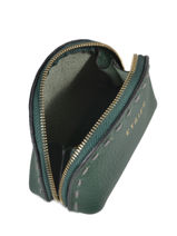 Purse Leather Etrier Green tradition EHER92-vue-porte